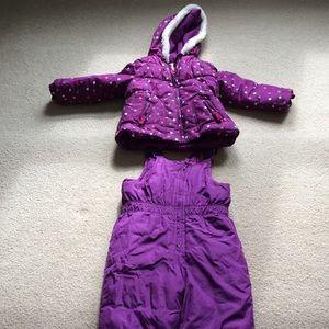 Girls3T Oshkosh snow suit